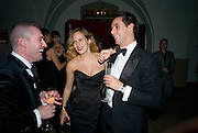 MAXIM DE WINTER; CHARLOTTE DELLAL; EDWARD ROSSO.  Chaos Point: Vivienne Westwood Gold Label Collection performance art catwalk show and auction in aid of the NSPCC. Banqueting House. London. 18 November 2008<br /> *** Local Caption *** -DO NOT ARCHIVE -Copyright Photograph by Dafydd Jones. 248 Clapham Rd. London SW9 0PZ. Tel 0207 820 0771. www.dafjones.com