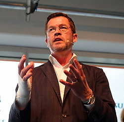 September 6, 2017 - Munich, Bavaria, Germany - Former minister Karl-Theodor zu Guttenberg talked to start-ups in Munich. (Credit Image: © Alexander Pohl/Pacific Press via ZUMA Wire)