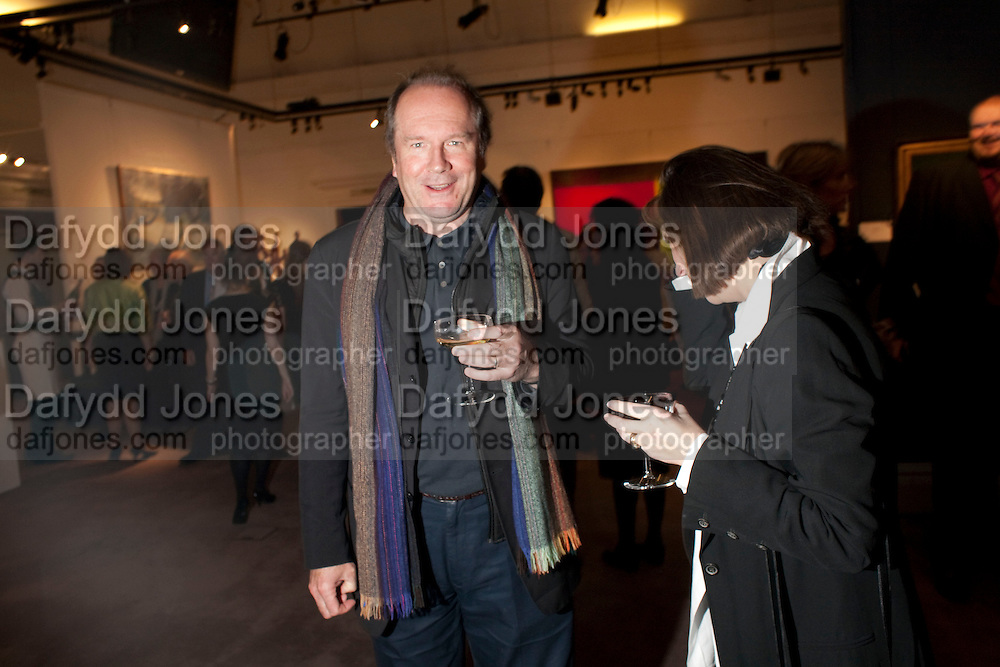 WILLIAM BOYD, Preview of  Lord and Lady Attenborough art works  at SothebyÕs. Donation from the evening to be made to RADA. New Bond St. London. 9 November 2009<br /> WILLIAM BOYD, Preview of  Lord and Lady Attenborough art works  at Sotheby's. Donation from the evening to be made to RADA. New Bond St. London. 9 November 2009