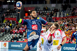 Cedric Sorhaindo (FRA) during handball match between National teams of France and Spain in Half Final match of Men's EHF EURO 2018, on January 26, 2018 in Arena Zagreb, Zagreb, Croatia. Photo by Ziga Zupan / Sportida