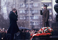 President Jimmy Carter visits Poland on December 30,1977<br /> Photo by Dennis Brack