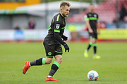 Forest Green Rovers George Williams(11) during the EFL Sky Bet League 2 match between Crawley Town and Forest Green Rovers at The People's Pension Stadium, Crawley, England on 6 April 2019.