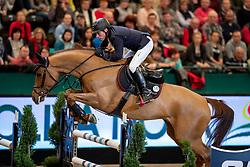 DREHER Hans-Dieter (GER), Prinz<br /> Leipzig - Partner Pferd 2019<br /> Longines FEI Jumping World Cup<br /> Sparkassen-Cup - Grosser Preis von Leipzig<br /> 20. Januar 2019<br /> © www.sportfotos-lafrentz.de/Stefan Lafrentz