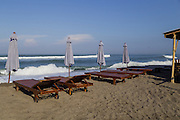 Scene at Batubelig Beach, Canggu.