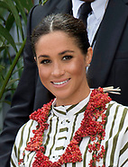 Meghan & Harry Visit Handicraft Fair, Tonga2
