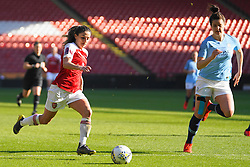 February 23, 2019 - Sheffield, England, United Kingdom - Katrine Veje of Arsenal..during the FA Women's Continental League Cup Final football match between Arsenal Women and Manchester City Women at Bramall Lane on February 23, 2019 in Sheffield, England. (Credit Image: © Action Foto Sport/NurPhoto via ZUMA Press)