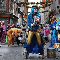 Nederland, Maastricht, 7 februari 2016.<br /> Carnaval in Maastricht.<br /> Zuid Nederland, Brabant en Limburg staan deze 3 dagen in het teken van Carnaval.<br /> <br /> Foto: Jean-Pierre Jans
