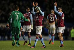 Aston Villa applaud the fans at the end of the match - Mandatory by-line: Jason Brown/JMP - 18/11/2016 - FOOTBALL - Amex Stadium - Brighton, England - Brighton & Hove Albion v Aston Villa - Sky Bet Championship
