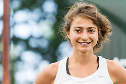 Beach to Beacon 10K pre-race press conference with elite runners Alexi Pappas