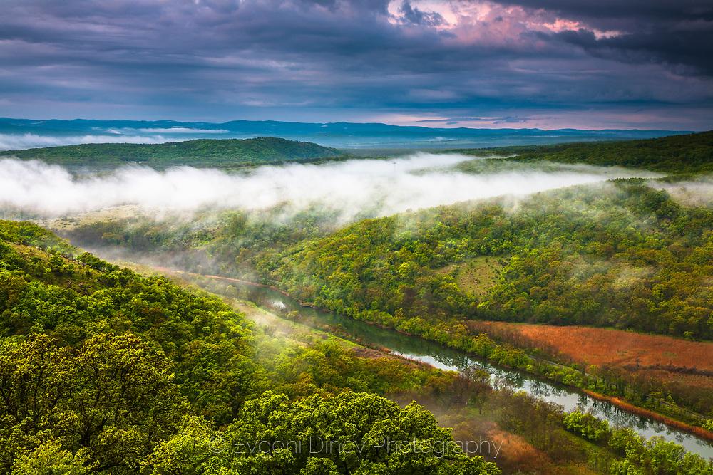 Above Ropotamo river at morning