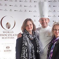 Lotte Andersson, Philippe Vancayseele, Lianne Hubbard. Canada World Chocolate Masters Canadian Selection, January 20, 2013.