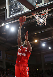 28.03.2016, Telekom Dome, Bonn, GER, Beko Basketball BL, Telekom Baskets Bonn vs FC Bayern Muenchen, 23. Runde, im Bild vl. Deon Thompson (Muenchen, #9) // during the Beko Basketball Bundes league 23th round match between Telekom Baskets Bonn and FC Bayern Munich at the Telekom Dome in Bonn, Germany on 2016/03/28. EXPA Pictures © 2016, PhotoCredit: EXPA/ Eibner-Pressefoto/ Horn<br /> <br /> *****ATTENTION - OUT of GER*****