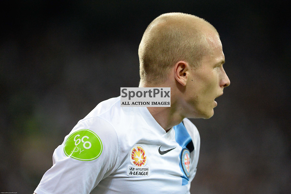 Aaron Mooy of Melbourne City - Hyundai A-League, 19th December 2015, RD11 match between Melbourne City FC v Melbourne Victory FC at Aami Park in a 2:1 win to City in front of a 23,000+ crowd. Melbourne Australia. © Mark Avellino | SportPix.org.uk