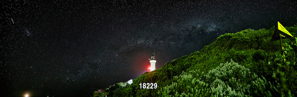 The Milky Way over Point Lonsdale Lighthouse