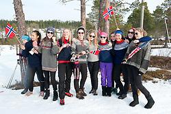 Specatators, , Long Distance Cross Country, 2015 IPC Nordic and Biathlon World Cup Finals, Surnadal, Norway