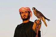 Falconer, Jumeirah Bab al Shams Hotel, Dubai, United Arab Emirates, Arabian Peninsula