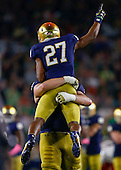 NCAA Football - Notre Dame Fighting Irish vs Miami Hurricanes - South Bend, IN
