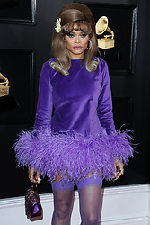 LOS ANGELES, CA, USA - FEBRUARY 10: 61st Annual GRAMMY Awards held at Staples Center on February 10, 2019 in Los Angeles, California, United States. 10 Feb 2019 Pictured: Andra Day. Photo credit: Xavier Collin/Image Press Agency / MEGA TheMegaAgency.com +1 888 505 6342