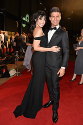 DAISY LOWE and ALJAZ SKORJANEC at the GQ Men of The Year Awards 2016 in association with Hugo Boss held at Tate Modern, London on 6th September 2016.