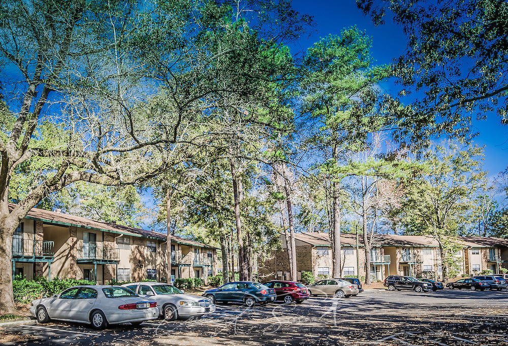 Resdential buildings are pictured at Autumn Woods apartment homes, November 27, 2015, in Mobile, Alabama. The apartment complex, located on Foreman Road, is owned by Sealy Management Company. (Photo by Carmen K. Sisson/Cloudybright)