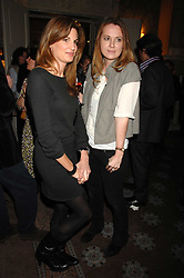 Left to right, JEMIMA KHAN and DAISY DONOVAN at a party to celebrate the publication of Top Tips For Girls by Kate Reardon held at Claridge's, Brook Street, London on 28th January 2008.<br />