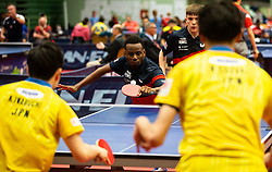 THOMPSON Ashley Facey and STACEY Joshua (GBR) during Team events at Day 4 of 16th Slovenia Open - Thermana Lasko 2019 Table Tennis for the Disabled, on May 11, 2019, in Dvorana Tri Lilije, Lasko, Slovenia. Photo by Vid Ponikvar / Sportida