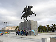 Statue of Alexander the Great, Thessaloniki, Macedonia, Greece