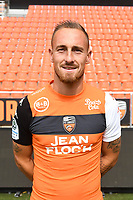 Gaetan Courtet during photoshooting of FC Lorient for new season 2017/2018 on September 12, 2017 in Lorient, France. (Photo by Philippe Le Brech/Icon Sport)