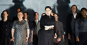 The Force of Destiny <br /> by Verdi <br /> English National Opera and the London Coliseum, London, Great Britain <br /> rehearsal<br /> 6th November 2015 <br /> <br /> <br /> Rinat Shaham as Preziosilla<br /> <br /> <br /> <br /> Photograph by Elliott Franks <br /> Image licensed to Elliott Franks Photography Services