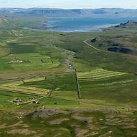 Hríshóll  til suðurs, Reykhólahreppur / Hrisholl viewing south, Reykholahreppur.