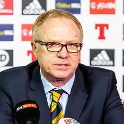 Alex McLeish Named Scotland Manager | Glasgow | 16 February 2018