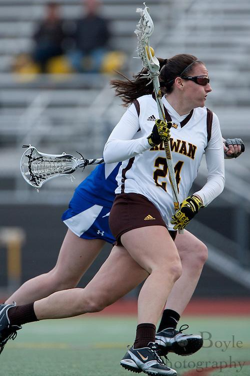 Rowan University  Sr. Captain Midfielder Nicole Valianti
