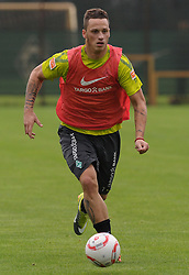 09.09.2010, Trainingsgelaende Werder Bremen, Bremen, GER, 1. FBL, Training Werder Bremen, im Bild Marko Arnautovic (Bremen #7)   EXPA Pictures © 2010, PhotoCredit: EXPA/ nph/  Frisch+++++ ATTENTION - OUT OF GER +++++ / SPORTIDA PHOTO AGENCY