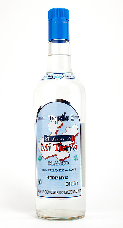 El Tesoro de Mi Tierra Blanco -- Image originally appeared in the Tequila Matchmaker: http://tequilamatchmaker.com