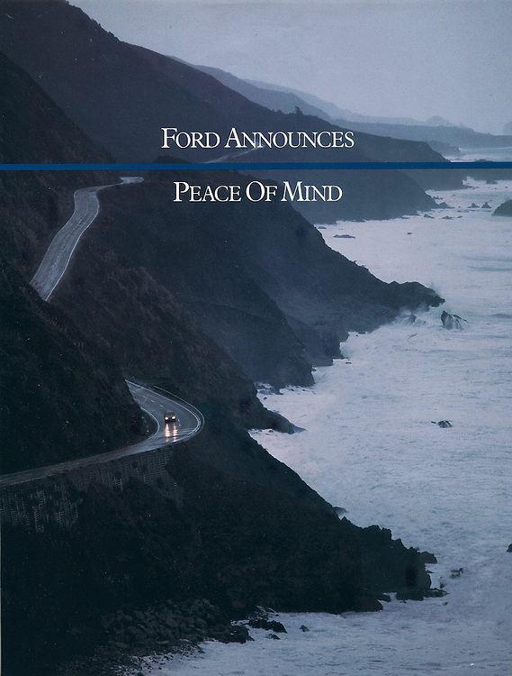 Ford,  Peace of MInd, Big Sur California