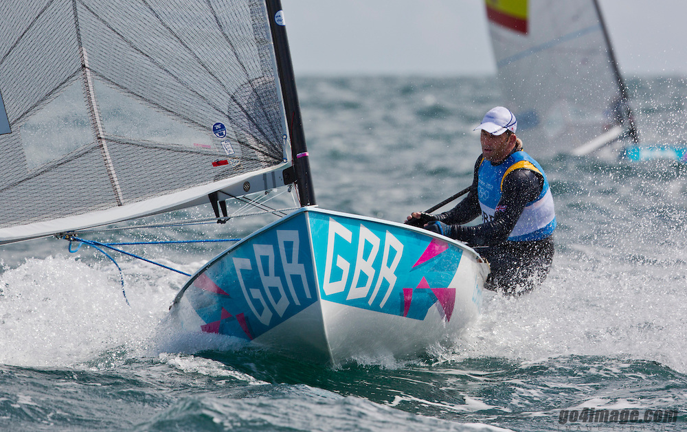 Finn GBRAinslie Ben<br /> <br /> 2012 Olympic Games <br /> London / Weymouth