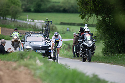 Lisa Brennauer (GER) of WNT Rotor Pro Cycling rides in the prologue of 2019 Festival Elsy Jacobs, a 2.7 km time trial from Kahler to Garnich, Luxembourg on May 10, 2019. Photo by Balint Hamvas/velofocus.com