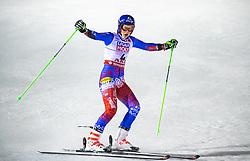 14.02.2019, Aare, SWE, FIS Weltmeisterschaften Ski Alpin, Riesenslalom, Damen, 2. Lauf, im Bild Weltmeisterin und Goldmedaillengewinnerin Petra Vlhova (SVK) // World champion and gold medalist Petra Vlhova of Slovakia reacts after her 2nd run of ladie's Giant Slalom of FIS Ski World Championships 2019. Aare, Sweden on 2019/02/14. EXPA Pictures © 2019, PhotoCredit: EXPA/ Johann Groder