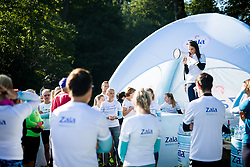 Runners during recreational jogging Zalin urbani tek, on September 21, 2019 in Ljubljana, Slovenia. Photo by Sasa Pahic Szabo / Sportida