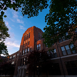 Warriner Hall summer sunrise
