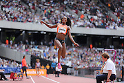 Funmi Jimoh of the USA in the Woman Long Jung during the Sainsbury's Anniversary Games at the Queen Elizabeth II Olympic Park, London, United Kingdom on 25 July 2015. Photo by Phil Duncan.