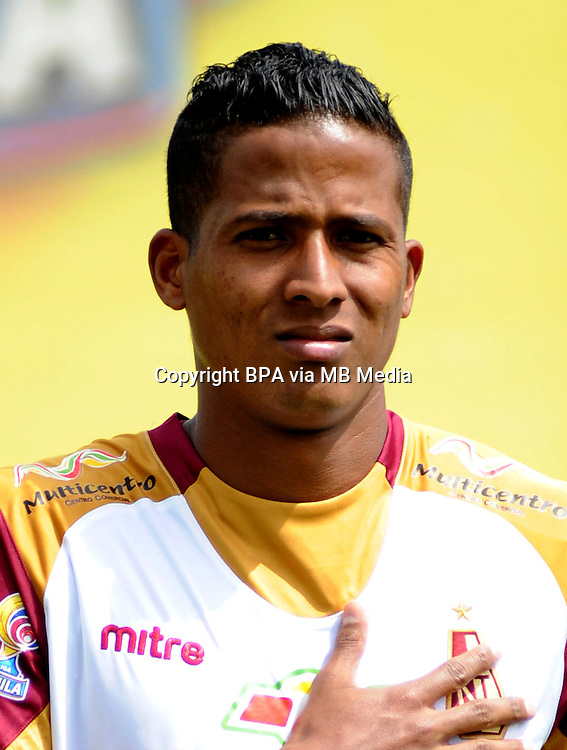 Colombia League - Liga Aguila 2015-2016 - <br /> Club Deportes Tolima - Colombia / <br /> Fainer Torijano Cano