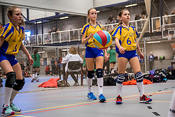 18-02-2017 NED:  Halve Finale NJOK, Houten<br /> In sporthal de kruisboog worden de wedstrijden gespeeld door CMV meisjes en jongens / SV Halle