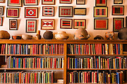 Navajo art and classic books, Hubbell Trading Post National Historic Site, Arizona USA