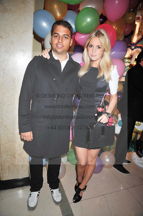 MARISSA MONTGOMERY and JAMIE REUBEN at a party hosted by Mulberry during London fashion Week 2009 at Claridge's Hotel, Brook Street, London on 20th September 2009.