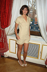Actress MARGO STILLEY at a fashion show featuring the Miss Selfridge Autumn/Winter '05 collections held at The Wallace Collection, Manchester Square, London W1 on 6th April 2005.<br /><br />NON EXCLUSIVE - WORLD RIGHTS