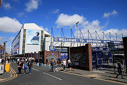 Blue skies above Goodison Park on the final day of the 2015/16 season - Mandatory byline: Matt McNulty/JMP - 15/05/2016 - FOOTBALL - Goodison Park - Liverpool, England - Everton v Norwich City - Barclays Premier League