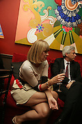 Anne McNally, Party for Jean Pigozzi hosted by Ivor Braka to thank him for the loan exhibition 'Popular Painting' from Kinshasa'  at Tate Modern. Cadogan sq. London. 29 May 2007.  -DO NOT ARCHIVE-© Copyright Photograph by Dafydd Jones. 248 Clapham Rd. London SW9 0PZ. Tel 0207 820 0771. www.dafjones.com.