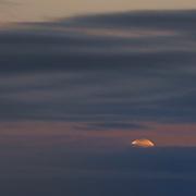 Moonset at Sunrise, Carmel, California
