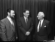 New Israeli Ambassador Meets Jewish Community.(T6)..1989..18.09.1989..09.18.1989..18th September 1989..The newly appointed Israeli Ambassador to Ireland,.Mr Yoav Biran, met with the Jewish Community in Ireland at the Israeli Embassy at Ballsbridge Dublin...Image shows Ambassador Biran speaking with members of the Irish Jewish Community at the reception in the Embassy of Israel, Dublin.